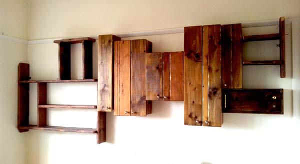 Adhoc shelving & cupboards