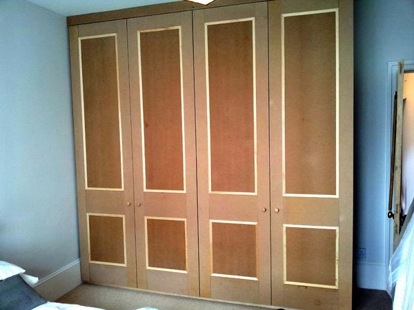 Panelled wardrobe 1