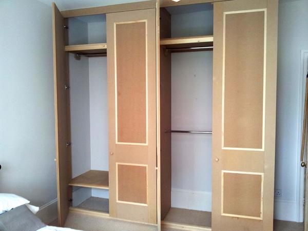 Panelled wardrobe 2