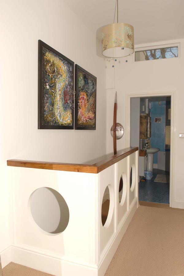 Porthole stair balustrade 2