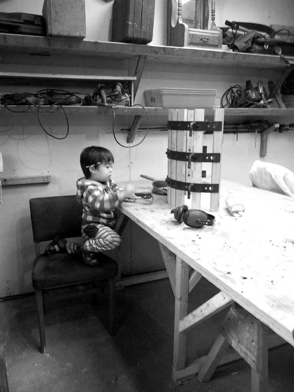 Repairing a wine press