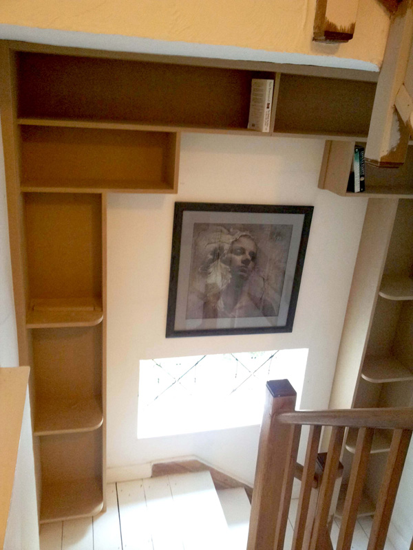 Staircase bookcase 1