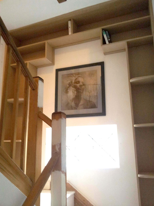 Staircase bookcase 2