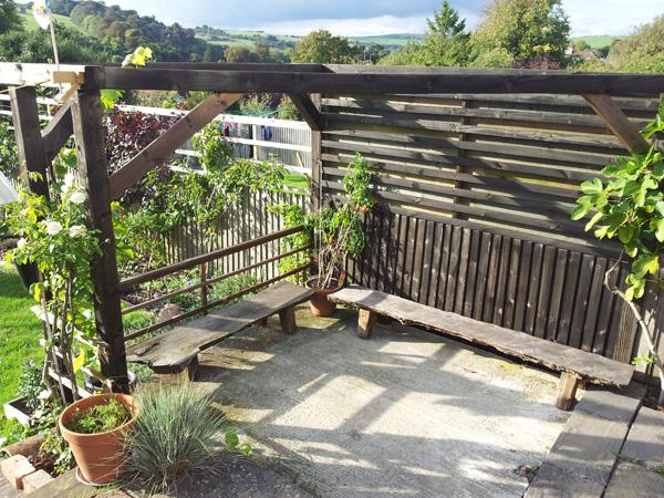 Terrace pergoda